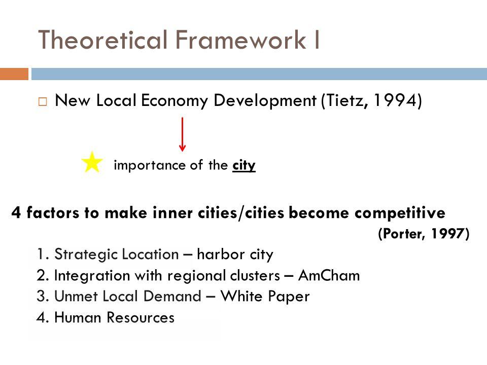 Theoretical Framework I
