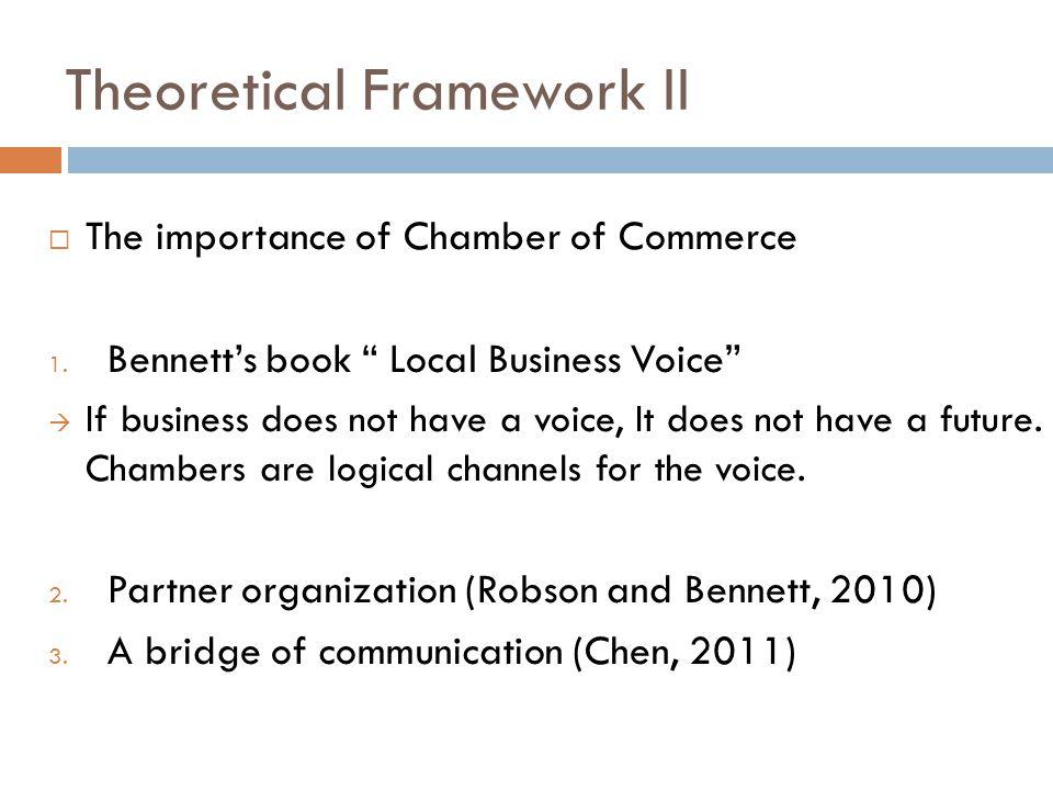 Theoretical Framework II