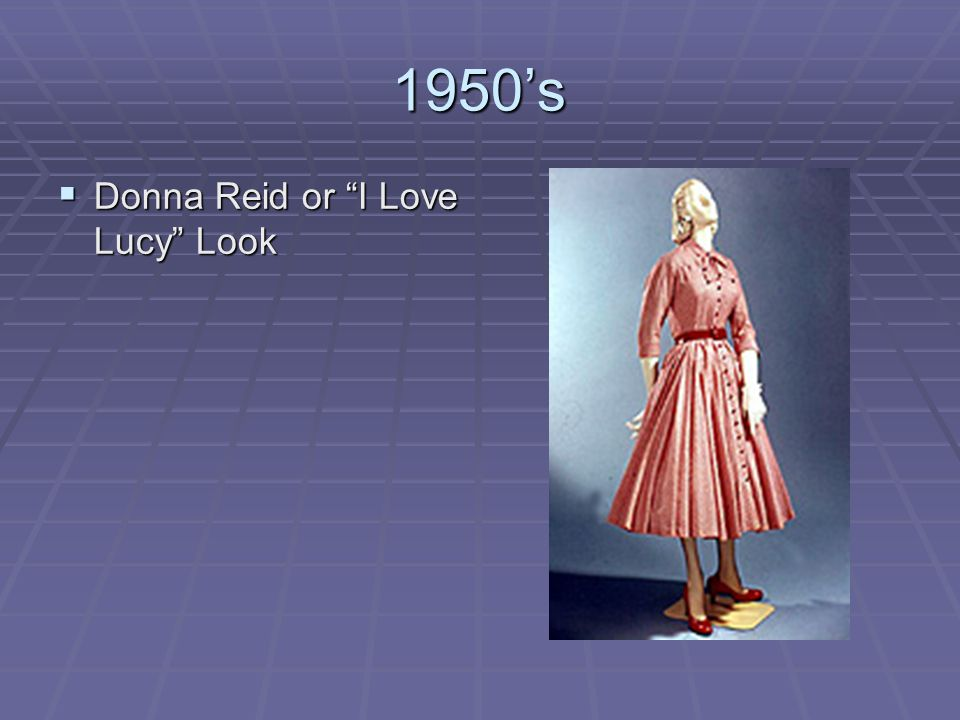 1950's Donna Reid or I Love Lucy Look