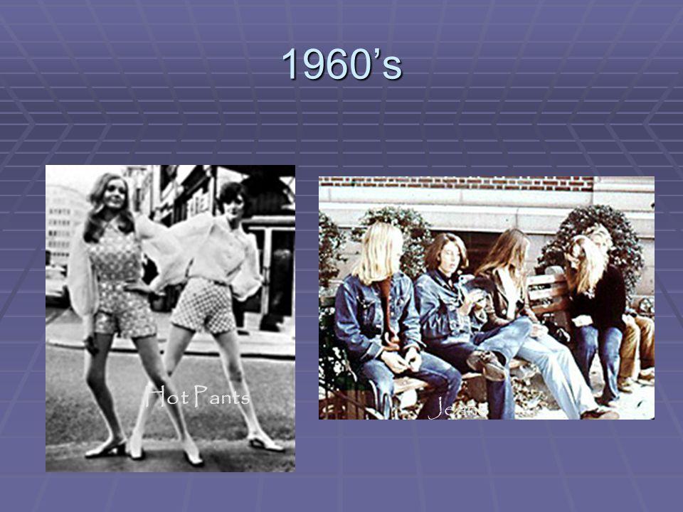 1960's Hot Pants Jeans