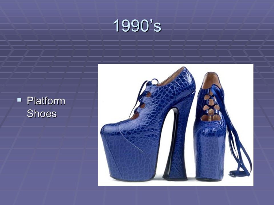 1990's Platform Shoes
