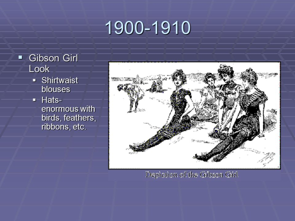 1900-1910 Gibson Girl Look Shirtwaist blouses