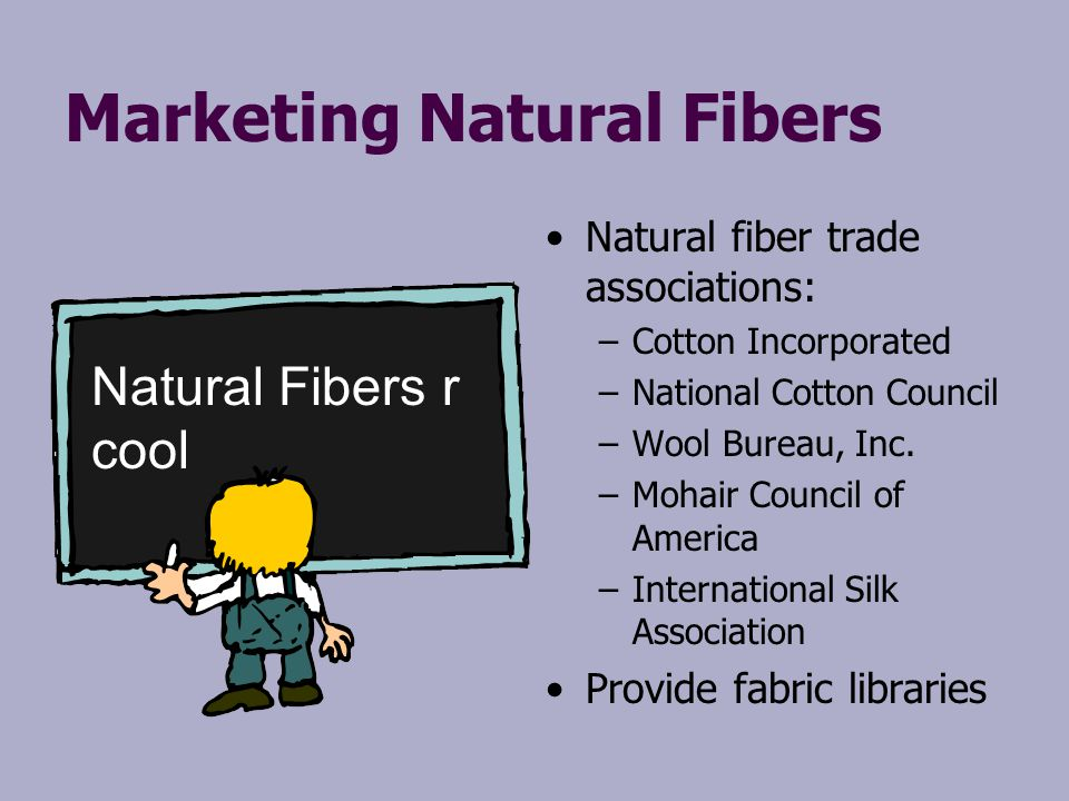 Marketing Natural Fibers