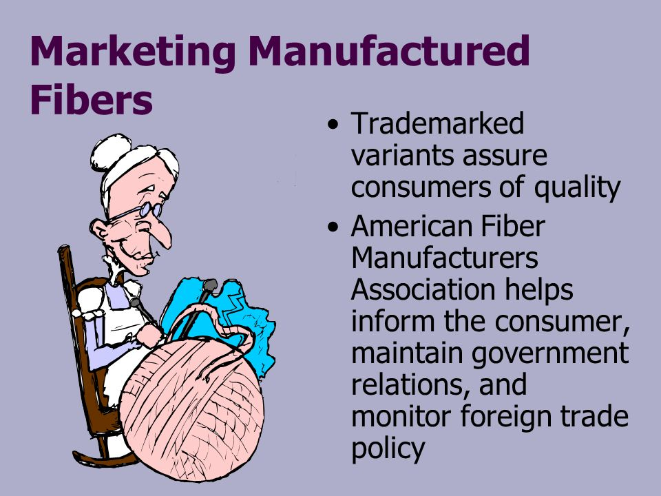Marketing Manufactured Fibers