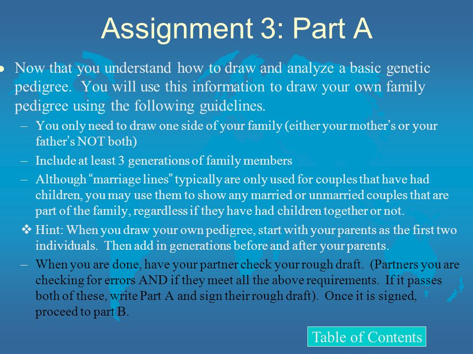 Assignment 3: Part A