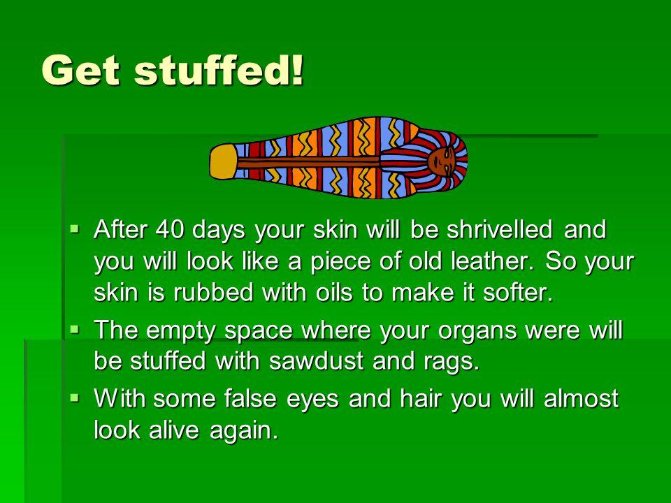 Get stuffed!