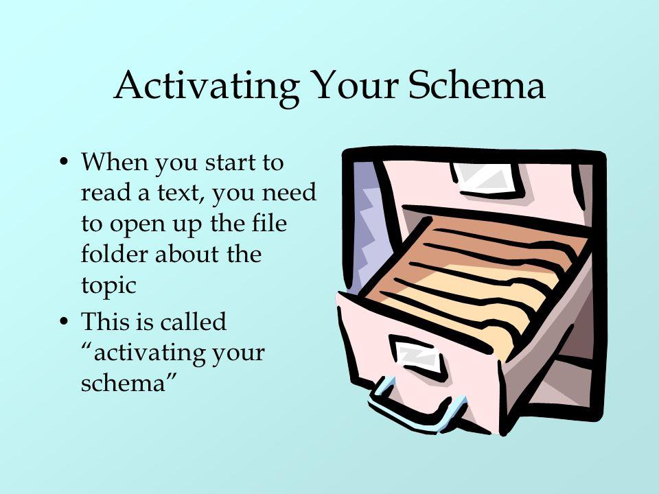 Activating Your Schema