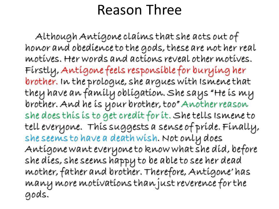 Reason Three