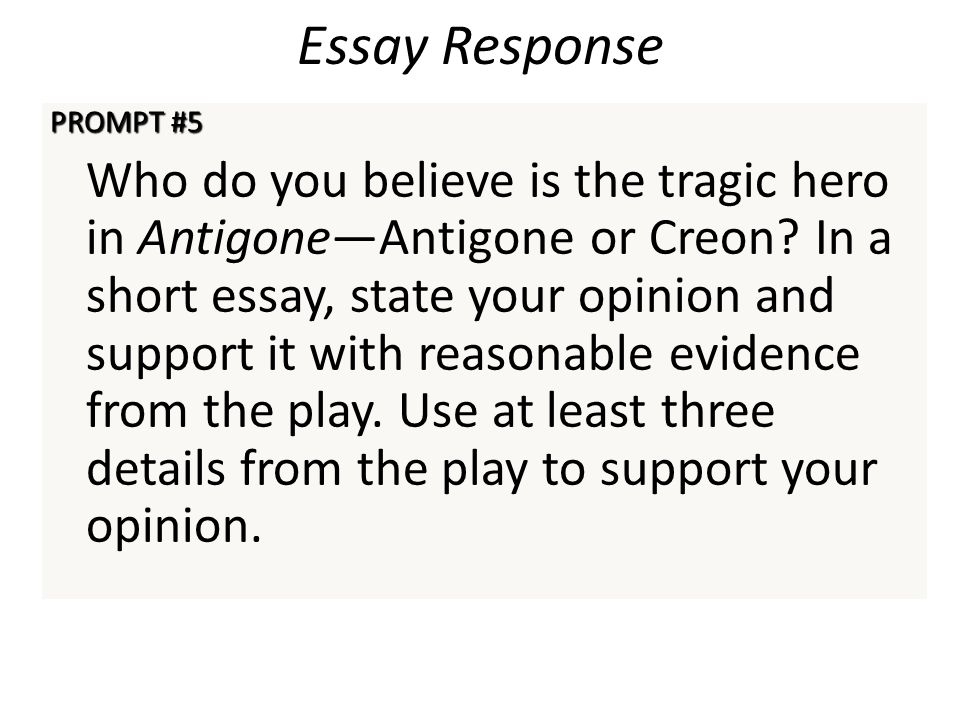 essay proves creon tragic hero antigone