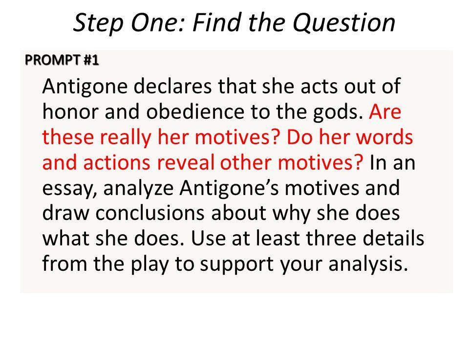 antigone short essay 3