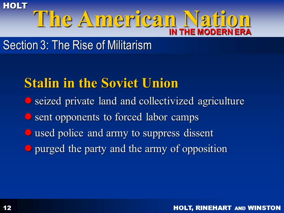 Stalin in the Soviet Union