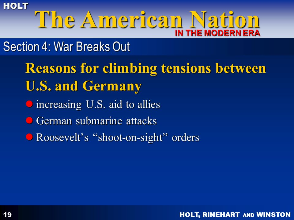 Reasons for climbing tensions between U.S. and Germany