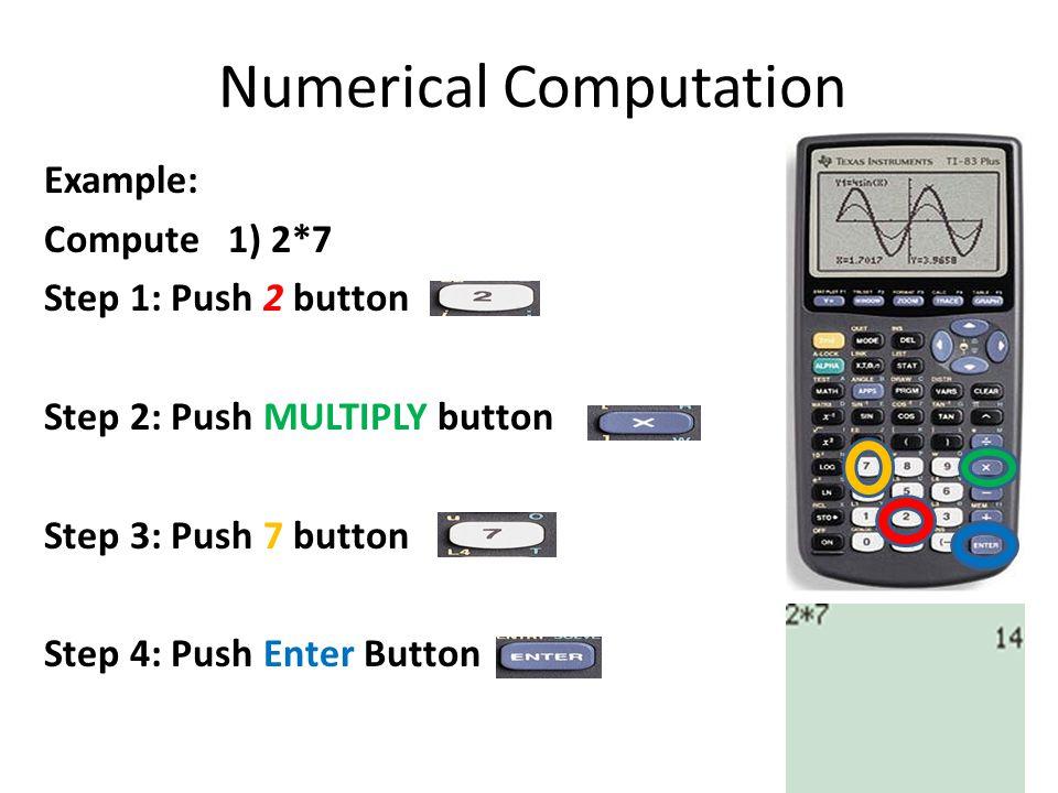 Numerical Computation