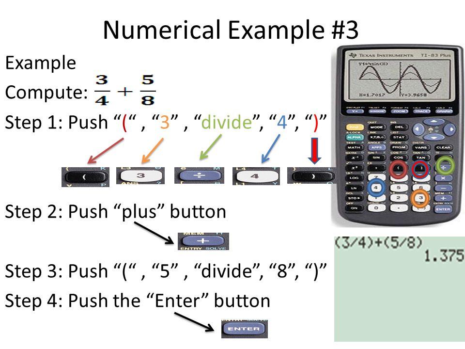 Numerical Example #3
