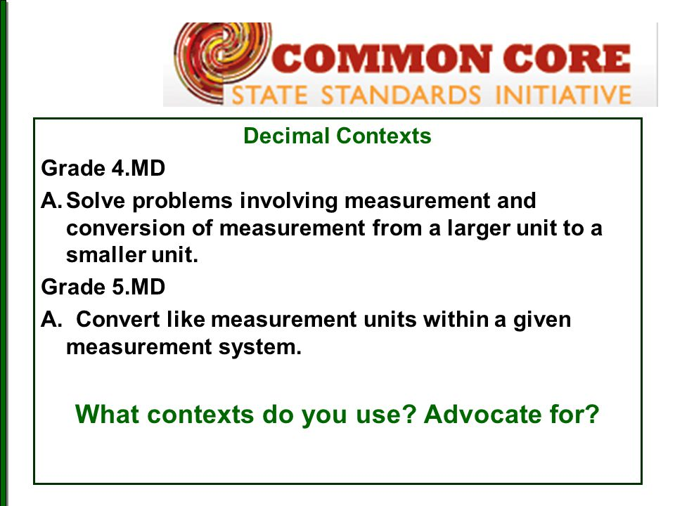 What contexts do you use Advocate for