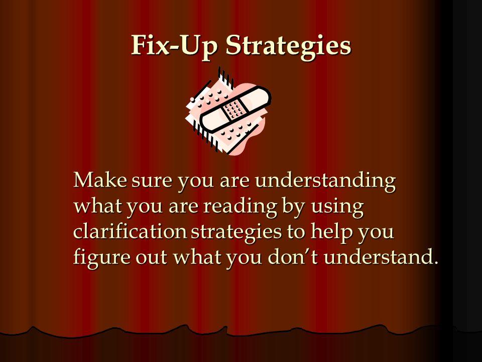 Fix-Up Strategies