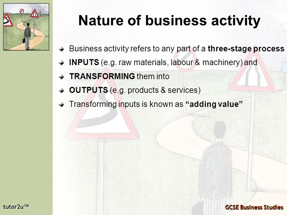 Nature of business activity