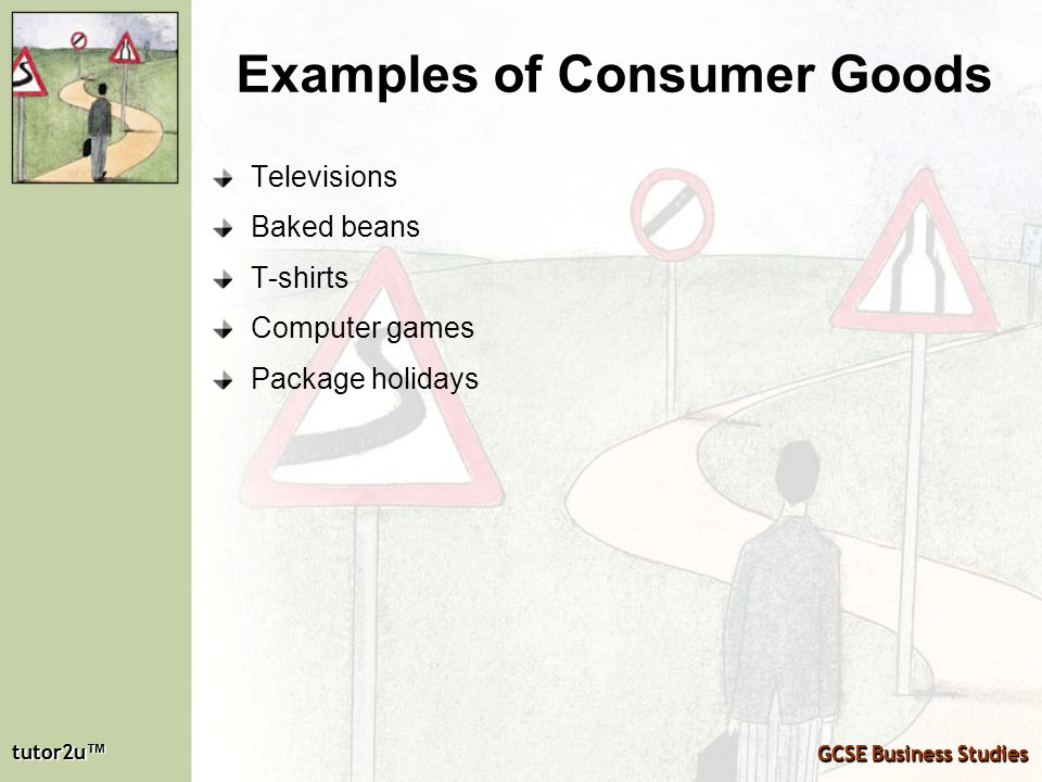 Examples of Consumer Goods