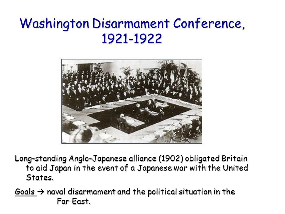 Washington Disarmament Conference, 1921-1922
