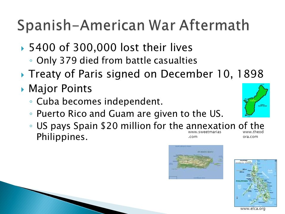 Spanish-American War Aftermath