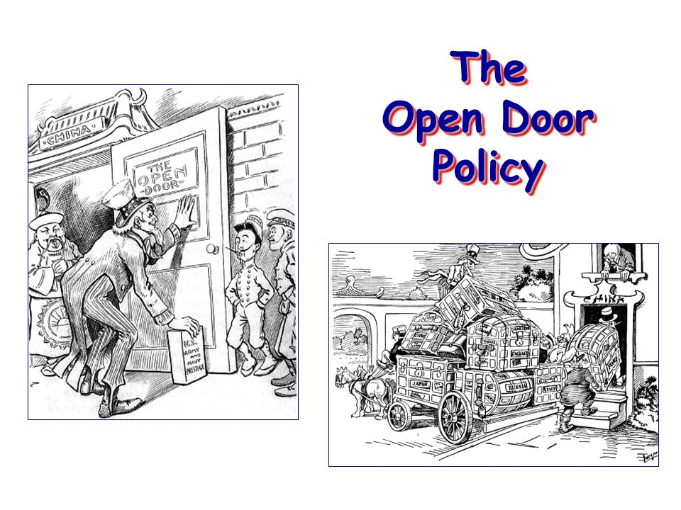 the open door policy essay The articulation of the open door policy represented the growing american interest and involvement in east asia at the turn of the century.