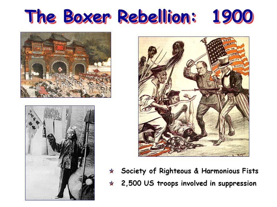 The Boxer Rebellion: 1900 Society of Righteous & Harmonious Fists
