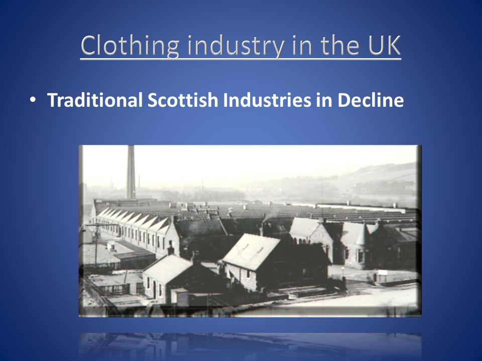 Clothing industry in the UK