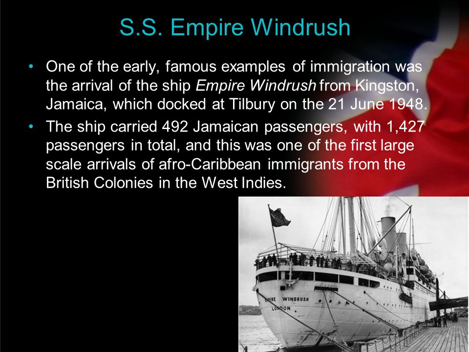 S.S. Empire Windrush