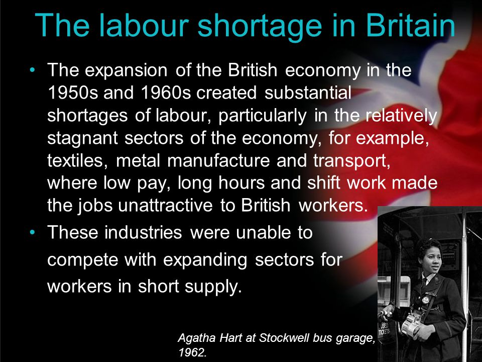 The labour shortage in Britain