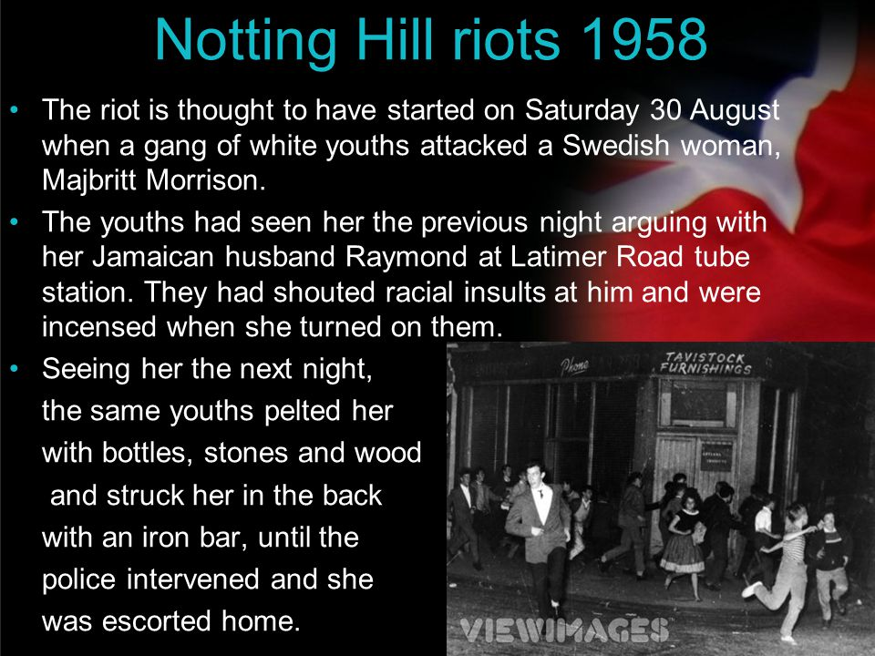 Notting Hill riots 1958