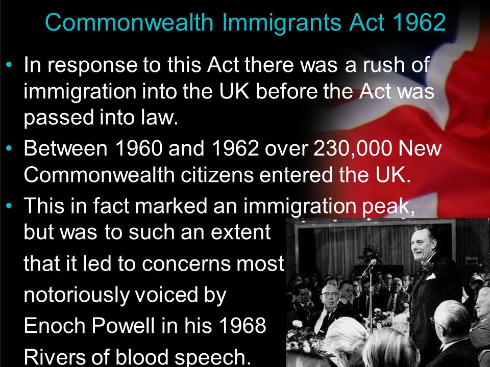 Commonwealth Immigrants Act 1962