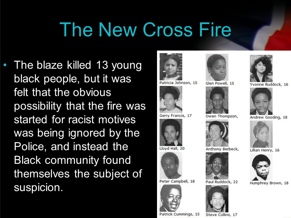 The New Cross Fire