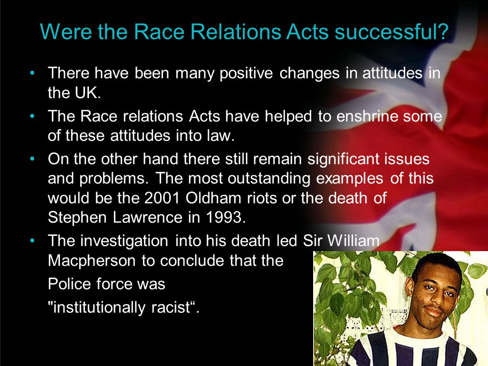 Were the Race Relations Acts successful