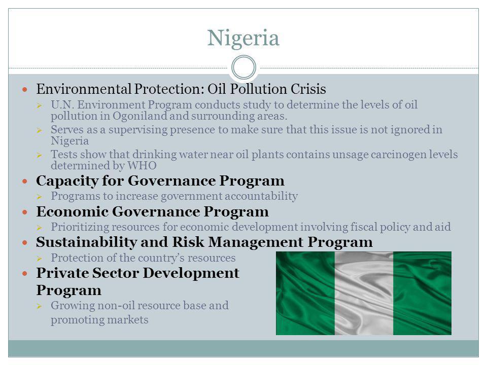 Nigeria Environmental Protection: Oil Pollution Crisis