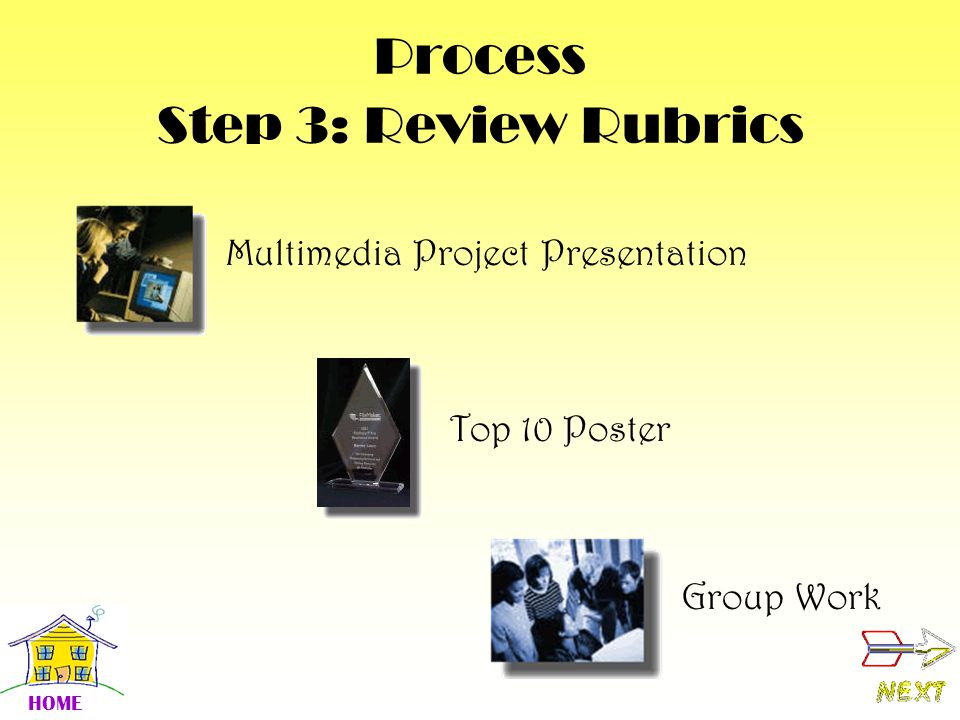 Process Step 3: Review Rubrics