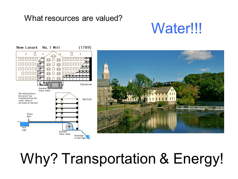 Why Transportation & Energy!