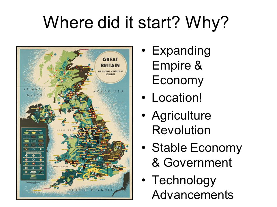 Where did it start Why Expanding Empire & Economy Location!