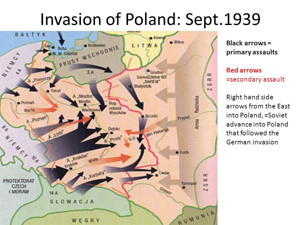 Invasion of Poland: Sept.1939