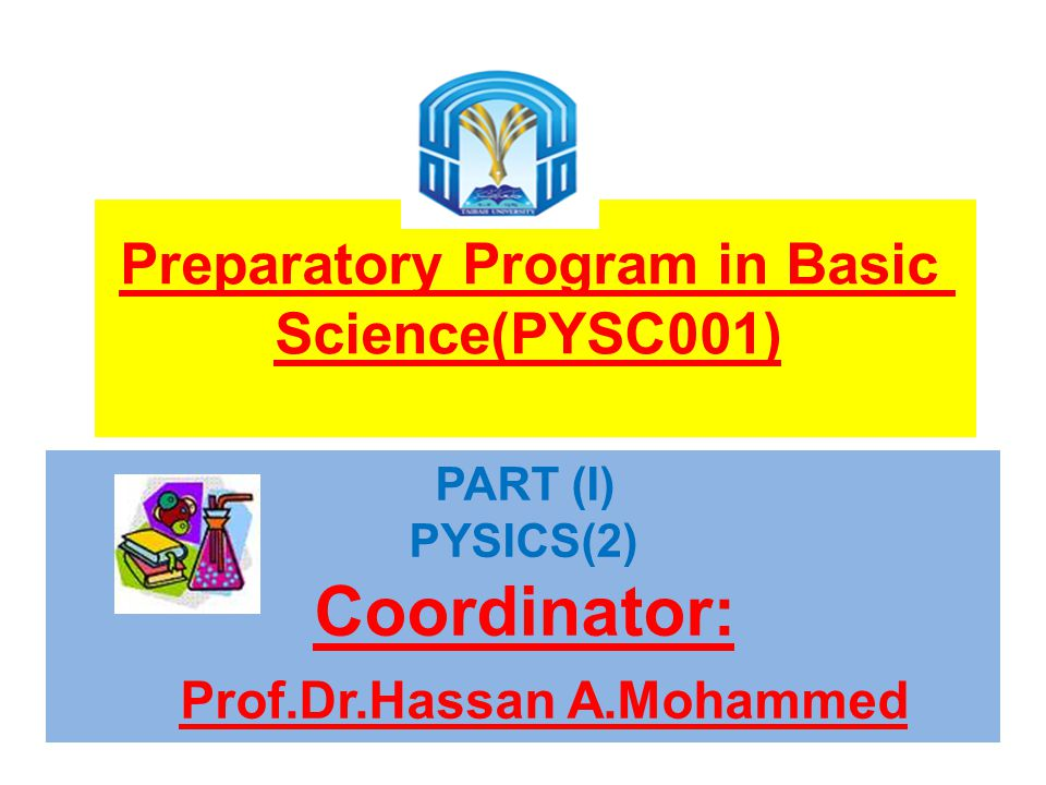 Prof.Dr.Hassan A.Mohammed
