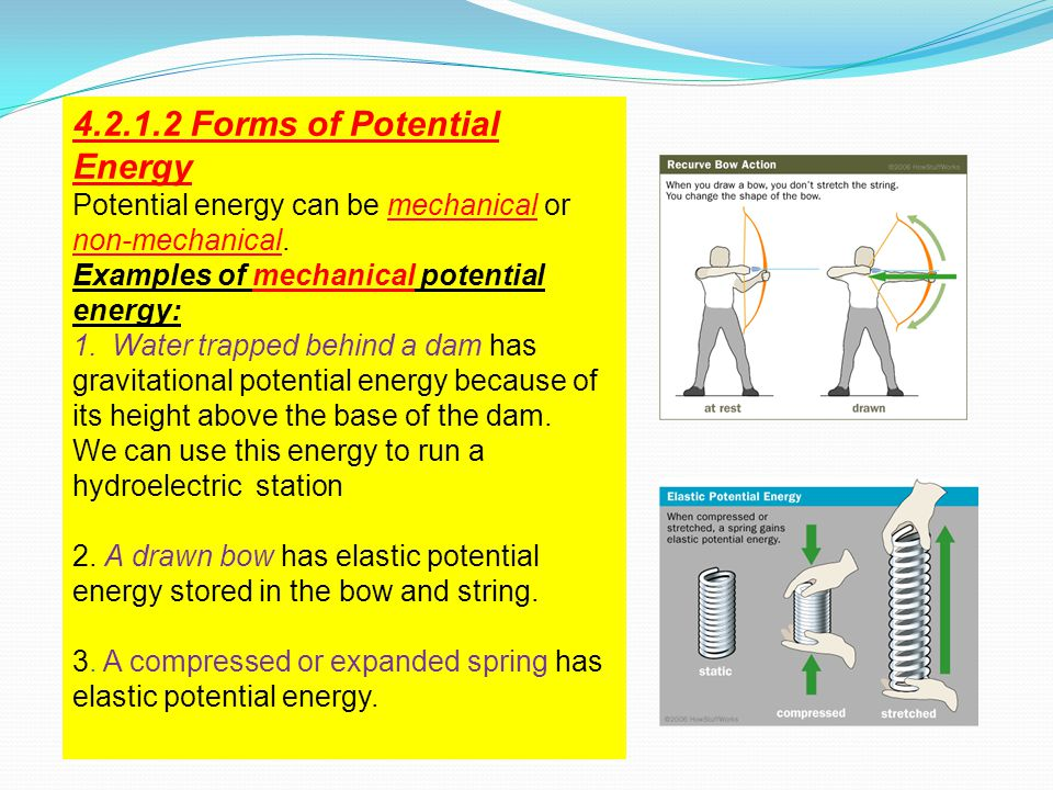 4.2.1.2 Forms of Potential Energy