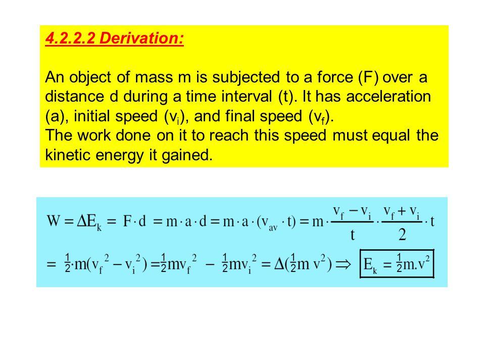 4.2.2.2 Derivation: