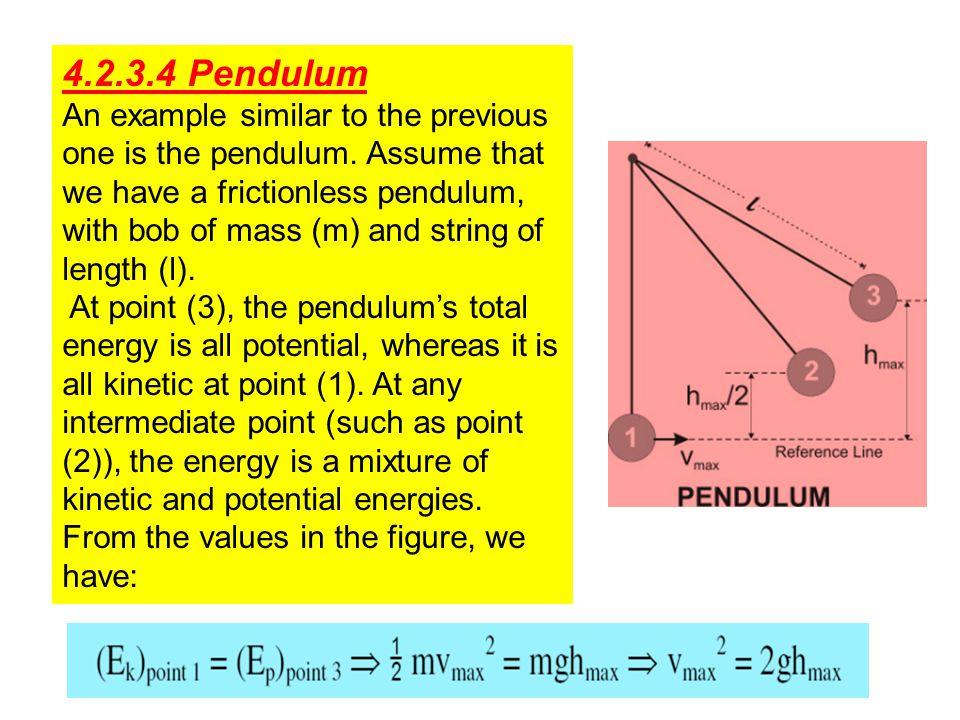 4.2.3.4 Pendulum