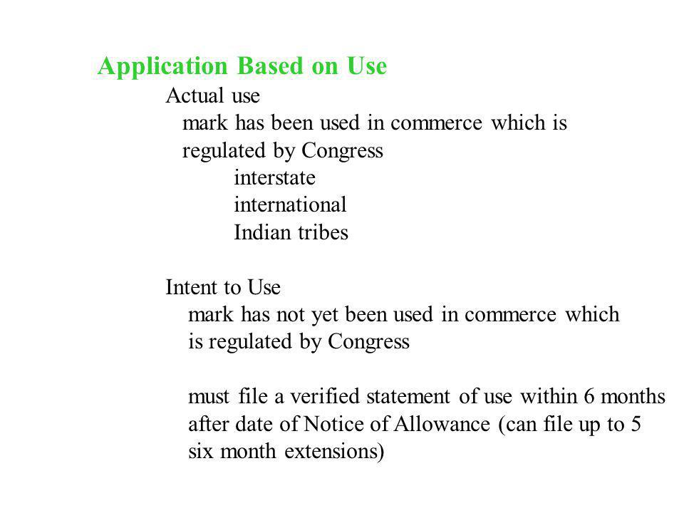 Application Based on Use