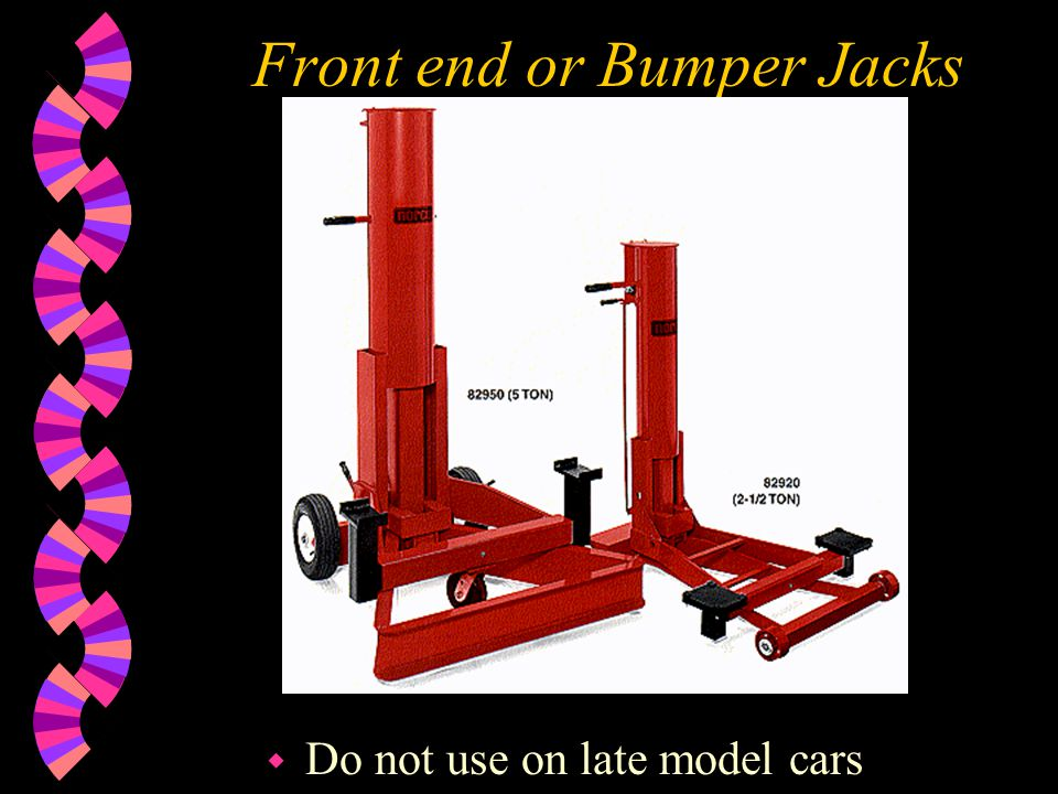 Front end or Bumper Jacks