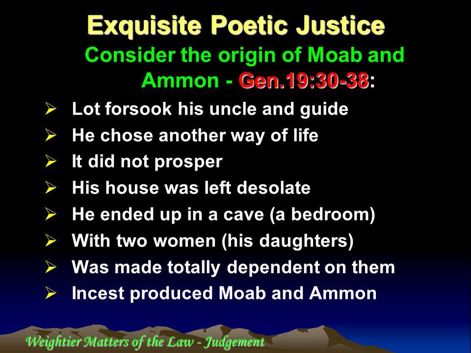 Exquisite Poetic Justice