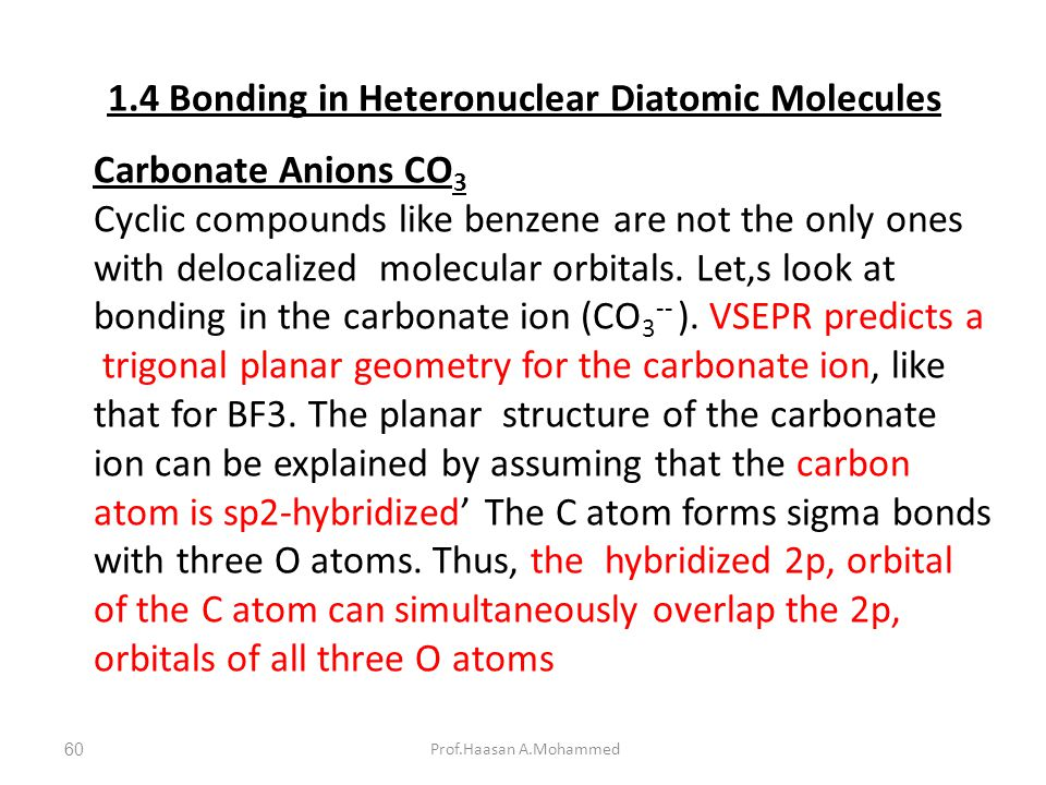 1.4 Bonding in Heteronuclear Diatomic Molecules