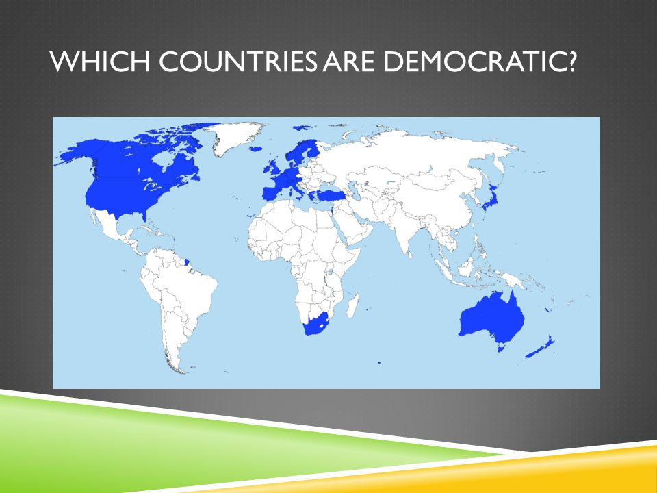Which countries are democratic