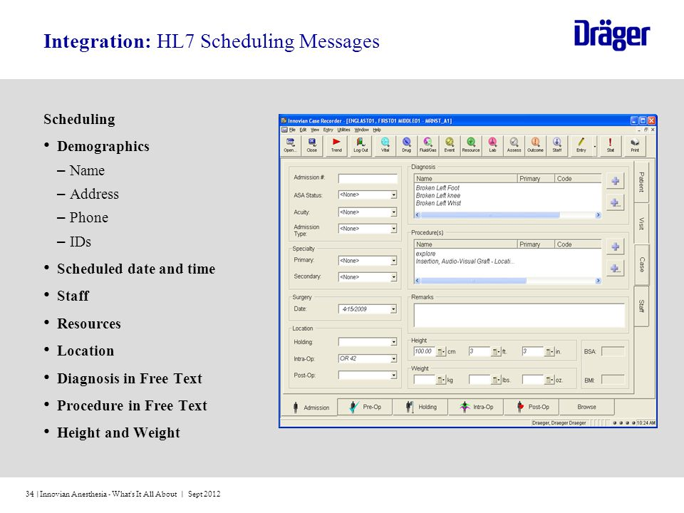 Integration: HL7 Scheduling Messages