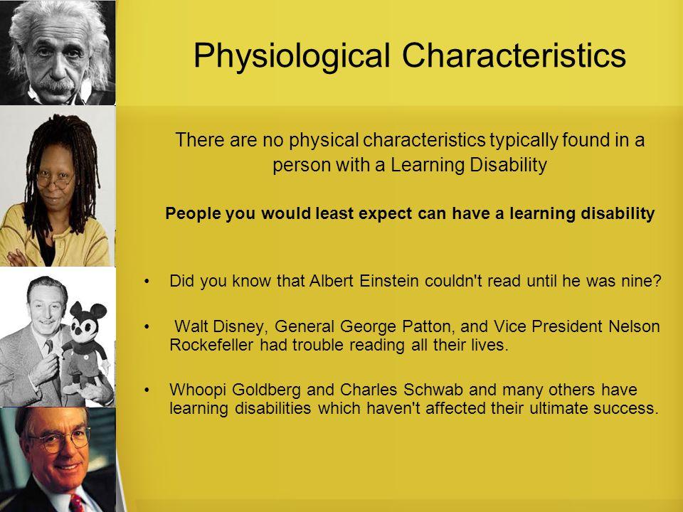 Physiological Characteristics