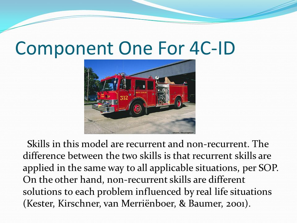 Component One For 4C-ID